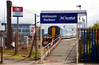 380 105 at Ardrossan Harbour