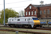 91105 at Doncaster