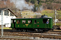 Steam Rail motor to Linthal, 10th January 2015