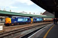 37609 and 37606 at Bristol Temple Meads