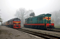 ChME3 3492 and M62 1198 at Ventspils