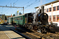 Switzerland, mostly standard gauge, 2nd to 5th January 2015