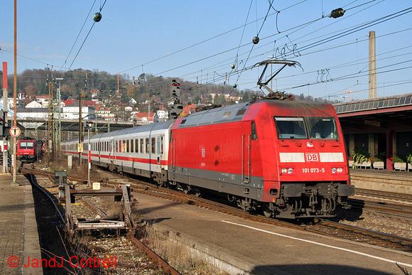 101 073 at Ulm Hbf