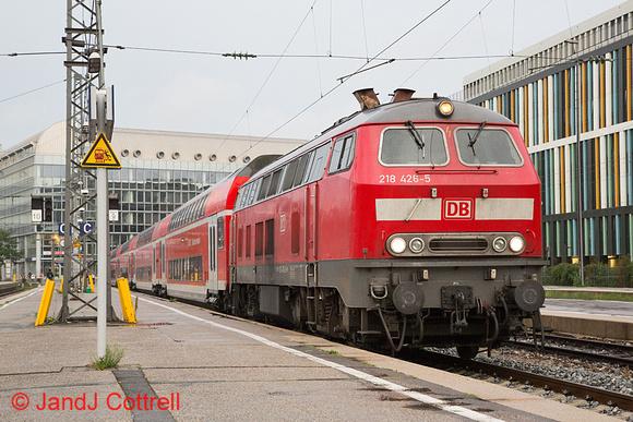 218 426 at München Hbf