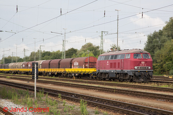 218 387 at Landshut (Bay) Hbf