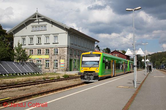 VT16 at Bayerisch Eisenstein
