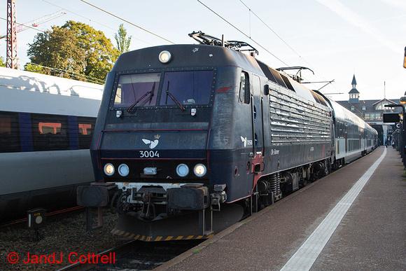 EA3004 at Østerport