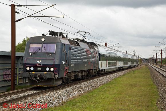 EA3022 at Trekroner