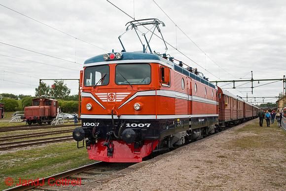 Rc 1007 at Gävle