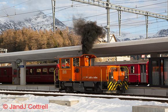 114 at St Moritz