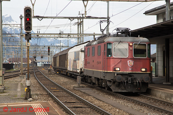 11291 at Erstfeld