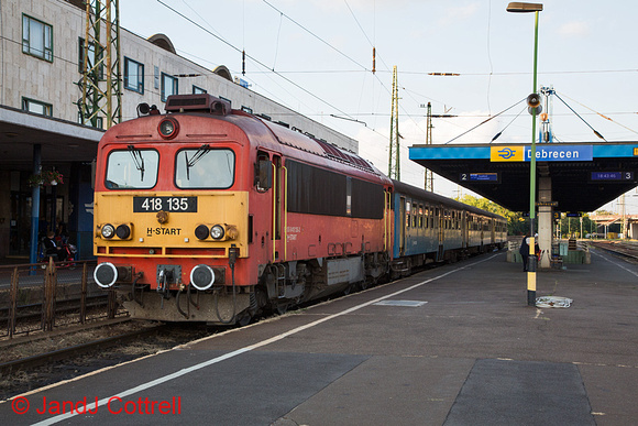 418 135 at Debrecen