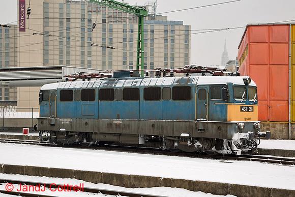 431 068 at Budapest Déli