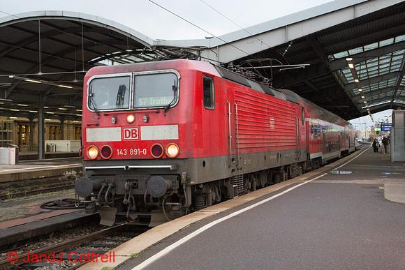 143 891 at Halle (Saale) Hbf