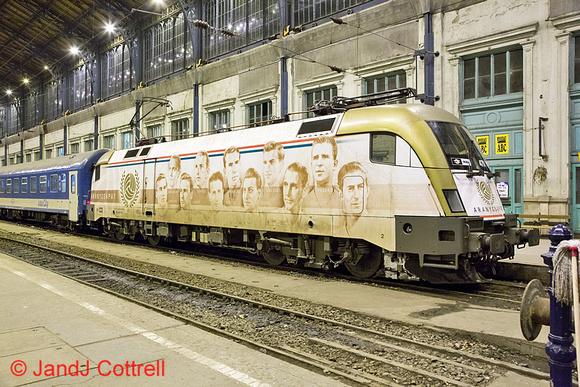 470 010 at Budapest-Nyugati