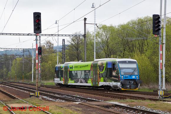 841 009 at Kostelec u Jihlavy
