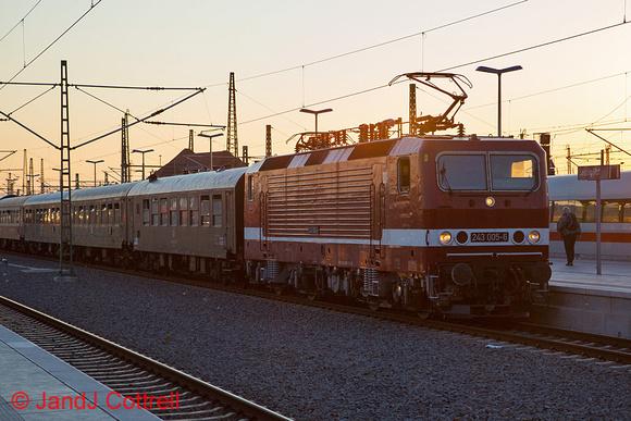 243 005 at Leipzig Hbf