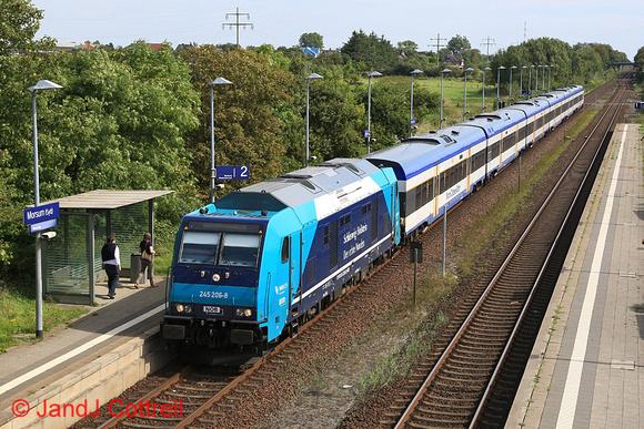 245 206 at Morsum (Sylt)