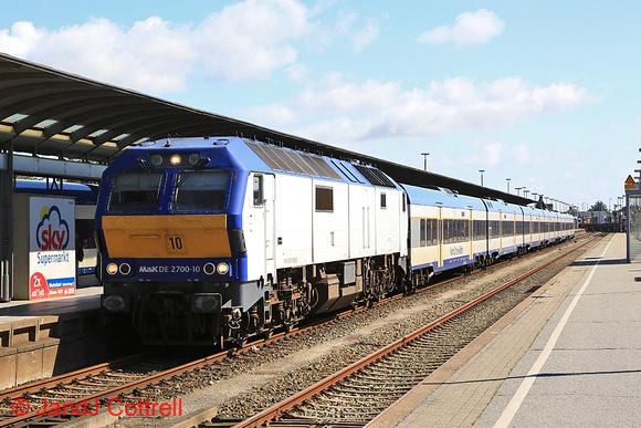 DE2700-10 at Westerland (Sylt)