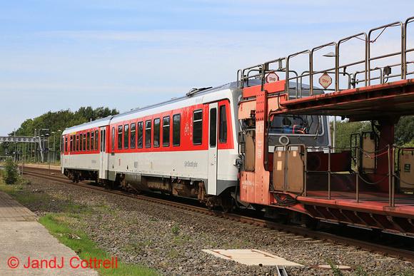 628 503 at Morsum (Sylt)