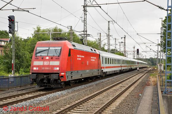 101 008 at Bad Bentheim