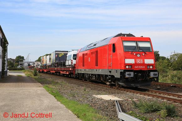 245 026 at Morsum (Sylt)