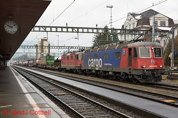620 074 at Arth-Goldau