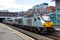 68010 at Birmingham Snow Hill