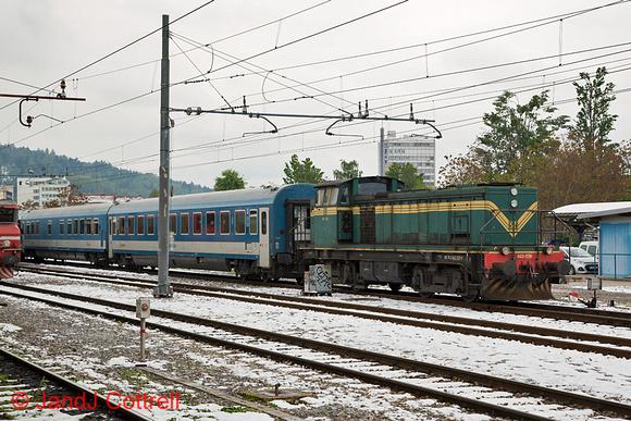 643 028 at Ljubljana