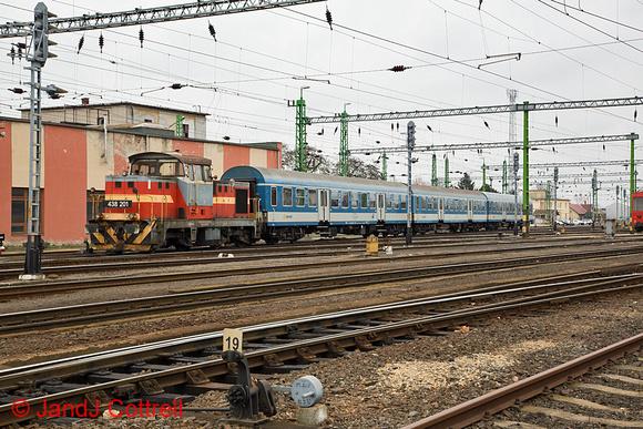 438 201 at Celldömölk