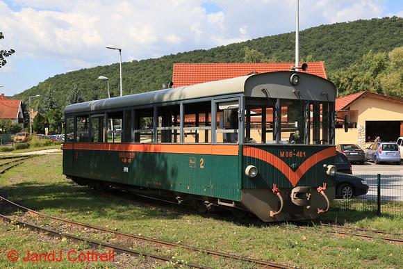 M06-401 at Kismaros