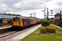 Bluebell diesel gala, 1st to 4th April 2017