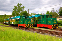 Hungary Narrow gauge trip, 11th, 12th and 14th May 2017