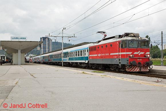 342 023 at Ljubljana